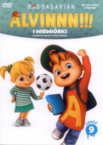 Alvin i wiewiórki Kolekcja filmowa 9 (DVD)