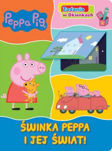 Świnka Peppa Zadania w okienkach 1 Świnka Peppa i jej świat!