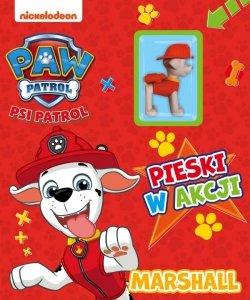 Psi Patrol Pieski w akcji 2 Marshall (z figurką)