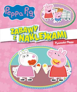 Świnka Peppa Zabawy z naklejkami 6 Pyszności Peppy