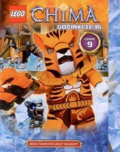 PREZENT ZA ZAKUPY za  50 zł - DVD LEGO Chima cz.9