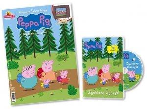 Świnka Peppa magazyn Wydanie specjalne z DVD Zgubione kluczyki (2/2017)