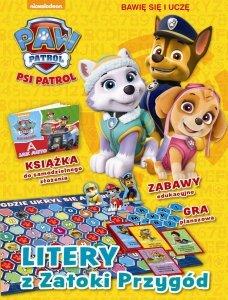 Psi Patrol Bawię się i uczę 1 Litery z Zatoki Przygód