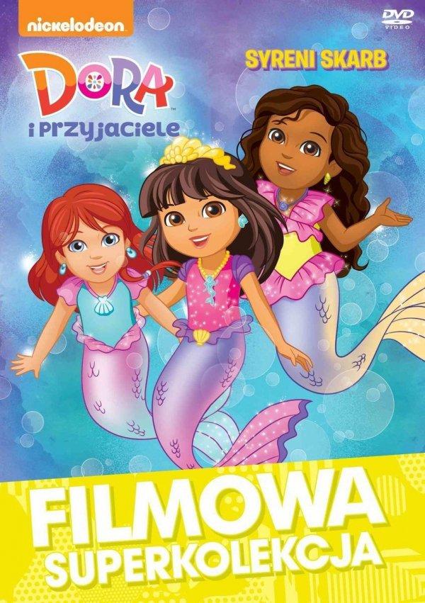 Dora i przyjaciele DVD Syreni skarb