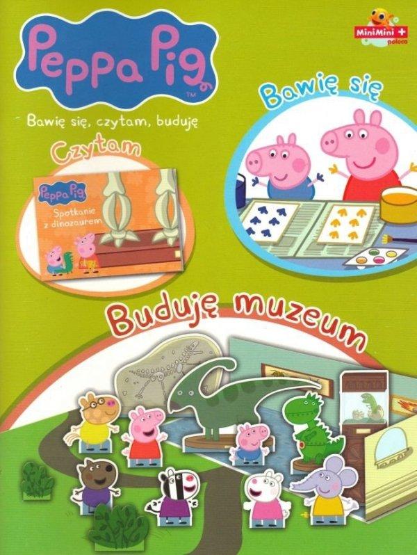 Świnka Peppa Bawię się, czytam, buduję 4 Buduję muzeum