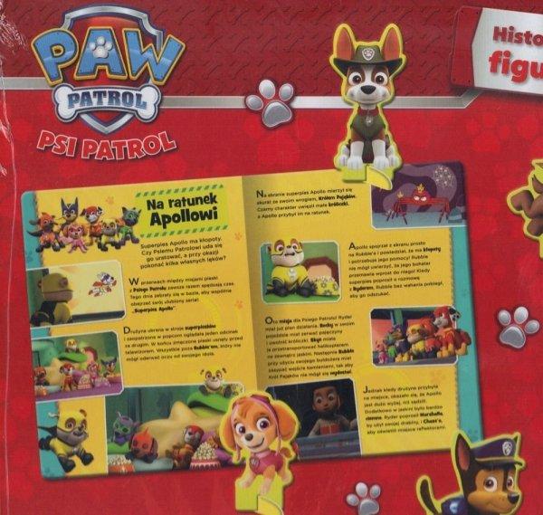 Psi Patrol Historyjki z figurkami Nowy przyjaciel