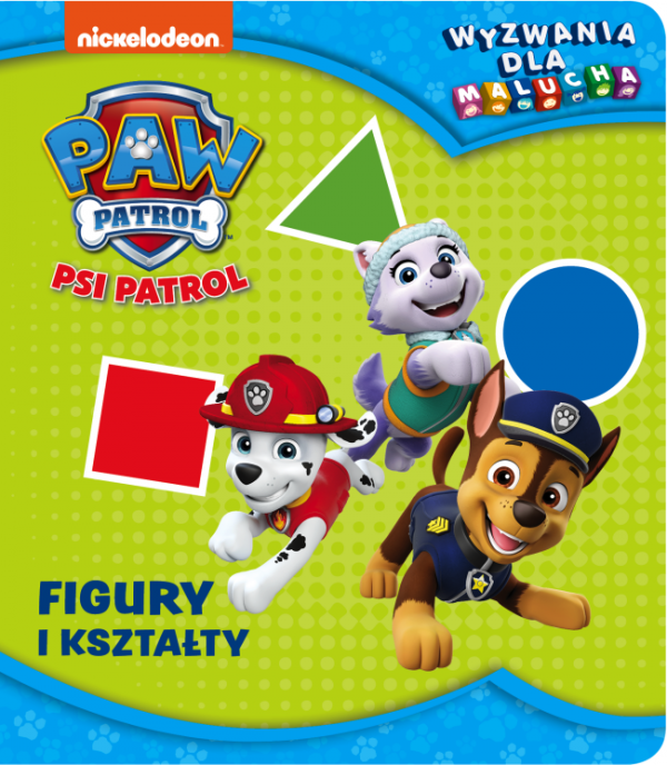 Psi Patrol Wyzwania dla malucha 3 Figury i kształty
