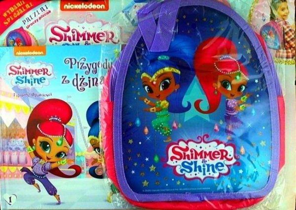 Shimmer i Shine magazyn Wydanie Specjalne 1/2020 plecak + książka