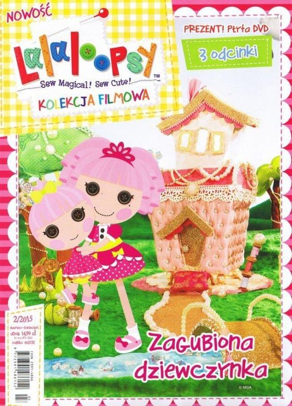 Lalaloopsy Kolekcja filmowa 4 Zagubiona dziewczynka (DVD)