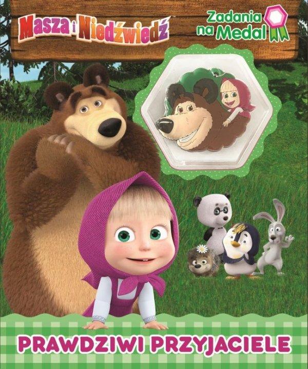 Masza i Niedźwiedź Zadania na medal 1 Prawdziwi przyjaciele