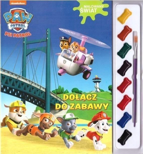 Psi Patrol Malowany świat 3 Dołącz do zabawy (z farbkami)