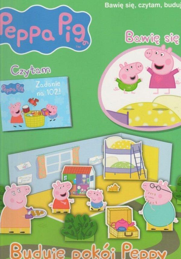 Świnka Peppa Bawię się, czytam, buduję 5 Buduję pokój Peppy