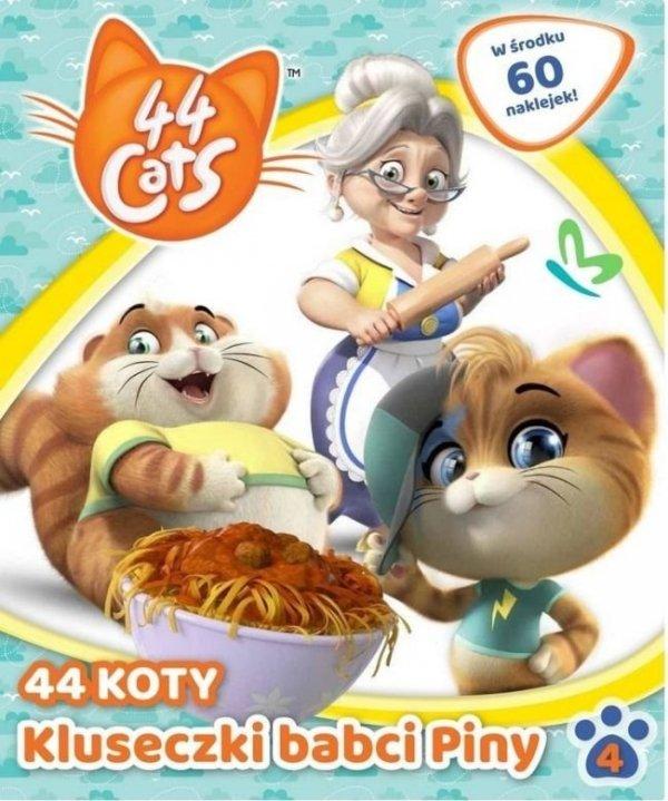 44 Koty 4 Kluseczki babci Piny