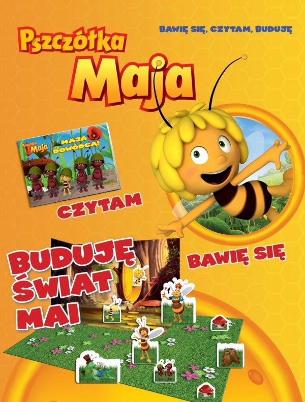Pszczółka Maja Bawię się, czytam, buduję Buduję świat Mai