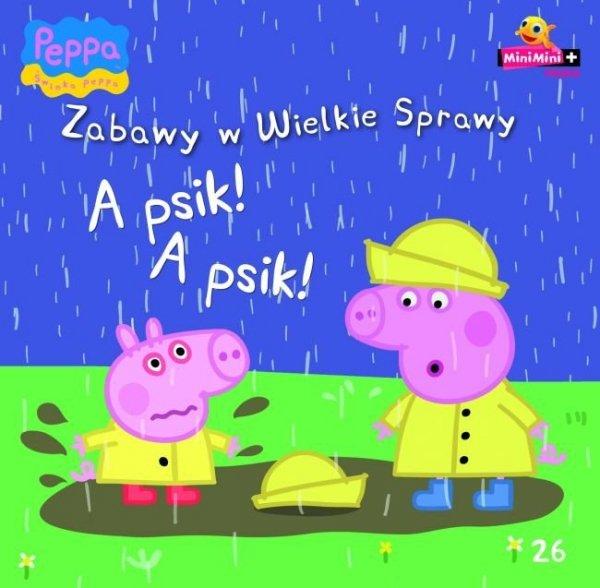 Świnka Peppa Zabawy w Wielkie Sprawy 26 A psik! A psik!