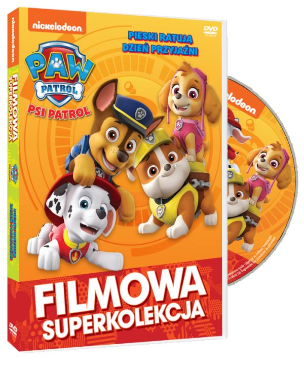 Psi Patrol Pieski ratują dzień przyjaźni DVD