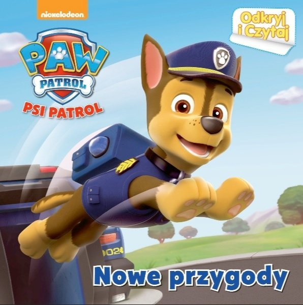 Psi Patrol Odkryj i Czytaj Nowe przygody