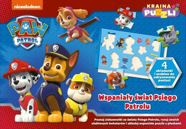 Psi Patrol Kraina puzzli