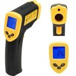 Termometr cyfrowy bezdotykowy -50°C÷380°C