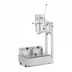 Maszyna do churros - 3 l - Royal Catering - 2 x 2500 W ROYAL CATERING 10012093 RC-CMM285