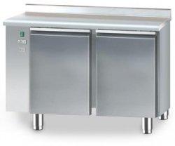 Stół chłodniczy bez agregatu o pojemności 2x95l 1125x600x850 DM-90002.0.0 DORA METAL DM-90002.0.0 DM-90002.0.0 600