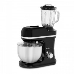 Robot kuchenny 2w1 - 1200 W - 5 l miska - 6 prędkości miksowania BREDECO 10080047 BCPM-1200-PRO