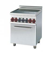 Kuchnia ceramiczna zpiek. konw. CFMC4 - 66 ET RM GASTRO 00000675 CFMC4 - 66 ET