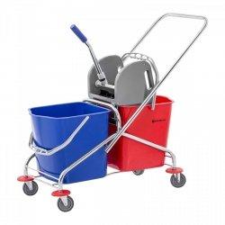 Wózek do sprzątania - 2 x 24l SINGERCON 10110002 CON.CT-2X23W