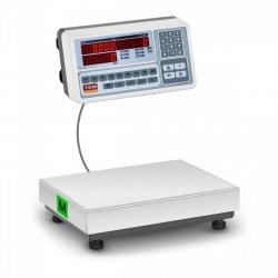 Waga sklepowa - 30 kg / 10 g - LED - legalizacja TEM 10200039 BM1TB028X0350030-S