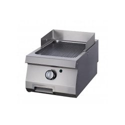 Chromowany grill gazowy Maxima 700 Płyta ryflowana 40 X 70 CM MAXIMA 09396008 09396008