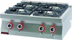 Kuchnia gazowa /4 palniki/  900x900x280 mm KROMET 900.KG-4 900.KG-4