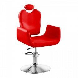 Fotel fryzjerski Physa Livorno czerwony  PHYSA 10040063 PHYSA LIVORNO RED