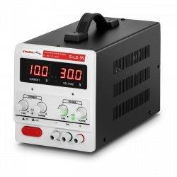 Zasilacz laboratoryjny - 0-30 V - 0-10 A DC - LED STAMOS 10021065  S-LS-35