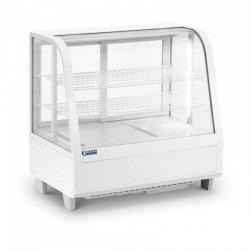 Witryna chłodnicza - 100 l - biała ROYAL CATERING 10011909 RCCC-100-W