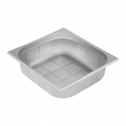 Pojemnik gastronomiczny - GN 2/3 - 100 mm - perforowany ROYAL CATERING 10011057 RCGN-P2/3X100