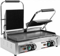 Podwójny grill kontaktowy 1/2 płaski 58 YATO YG-04563 YG-04563