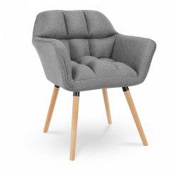 Krzesło tapicerowane - ciemnoszare FROMM & STARCK 10260160 STAR_CON_102