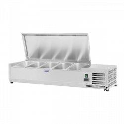 Nadstawa chłodnicza - 5 x GN 1/4 - 120 x 33 cm ROYAL CATERING 10010941 RCKV-120/33-5S