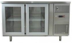 Stół chłodniczy 2-drzwiowy 280L przeszklony INVEST HORECA EPF3721