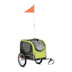 Przyczepka rowerowa dla psa - 20 kg - odblaski - plandeka UNIPRODO 10250521 UNI_TRAILER_19
