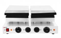 Gofrownica elektryczna prostokątna podwójna COOKPRO 500010006 500010006