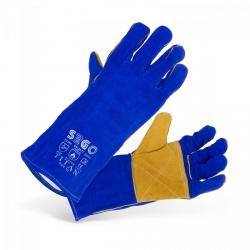 Rękawice spawalnicze - niebieskie STAMOS 10020993 SWG03-TITAN