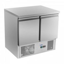 Stół chłodniczy do pizzy - 90 x 70 cm ROYAL CATERING 10010451 RCKT-90/70-O