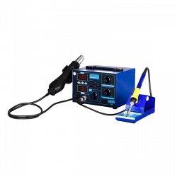 Stacja lutownicza - 75 W - 2 x kolba - zasilacz - 2 x LED - Basic STAMOS 10021028 S-LS-17 Basic
