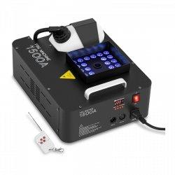 Wytwornica mgły - 509 m³/min - DMX - 3 kolory LED SINGERCON 10110018 CON.FM-1500A 24L