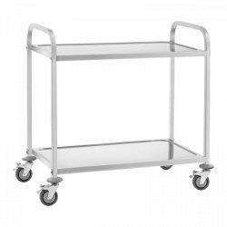 Wózek kelnerski - 2 półki - 100 kg