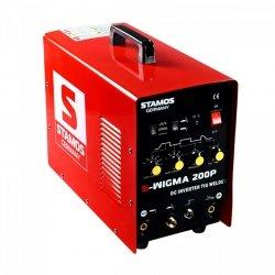 Spawarka TIG - 200 A - 230 V - Puls STAMOS 10020009 S-WIGMA 200P