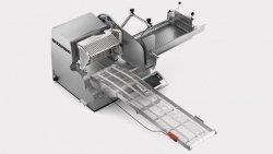 Krajalnica automatyczna z taśmą odbiorczą, sanie 600 mm, moduł wagowy  BIZERBA VSI330 T W VSI330 T W