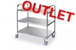 OUTLET | Wózek 3-półkowy HENDI 810101 810101