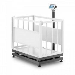 Waga inwentarska - skalibrowana - 300 kg/100 g - klatka dla zwierząt - LCD TEM 10200113 AEK+C070X1100300